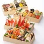 かに料理の甲羅による豪華かに海鮮おせち全2種類と一人前のおせち