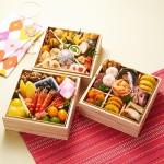 美食家としても有名な森公美子さんがプロデュースした三段重おせち