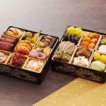 洋食と中華料理を二段重に盛り合わせた東京正直屋のオードブルおせち