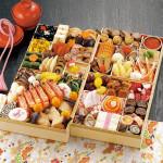 松茸やあわびの旨煮など高級食材を詰め合わせた京菜味のむらの京おせち