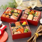 中華料理も洋風おせちも三段重に盛り合わせた1万円以下の和洋中おせち