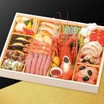 洋風の生おせちを一段のお重箱に盛り付けた子供でも美味しいおせち